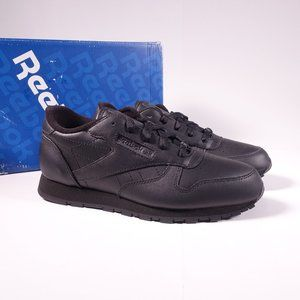 Reebok Classic Leather Sneakers Triple Black